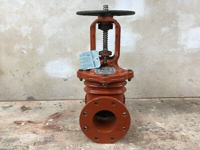 4 Inch Mueller Os&y Fire Main Wedge Gate Valve Fl X Fl Ends 040R236506Lh Iron