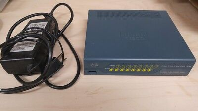 Cisco ASA5505 V11 8 Port Adaptive Security Ethernet Firewall WITH power adapter