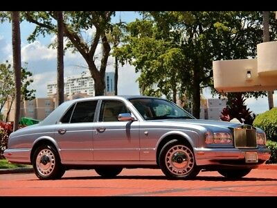 2002 Rolls-Royce Silver Seraph LOL Last of the Line 2002 MIST BLUE 28K $539.00 Mo SERVICED PPI APPROVED  CRYSTAL UMBRELLAS SERVICED