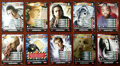 Doctor Who Battles In Time 10 x Trading Cards (230 - 239)
