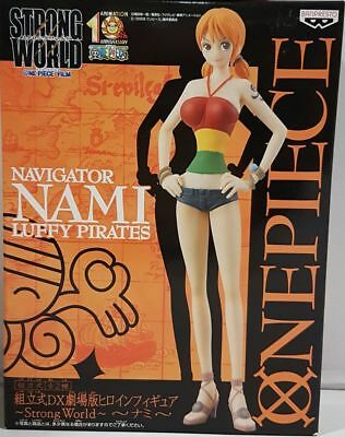 One Piece Strong World Nami Dx Heroin Figure Banpresto New Nueva