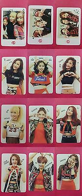 TWICE 12 pcs Official Photocard Red (Adult)  Unit 1st Album The Story Begins