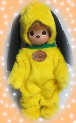 "Disney Pluto Doll - Precious Moments 12"" Vinyl Doll"