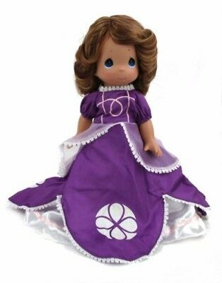 "Disney Sofia the First Doll in Purple  - Precious Moments 12"" Vinyl Doll"