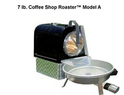 Made In USA 7 Lb Capacity Indoor Electric Coffee Roaster Roasting Coffee Beans