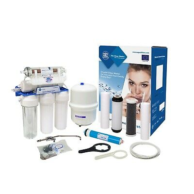 7 stage Reverse Osmosis Water Filtration System Drinking Water RX75139415