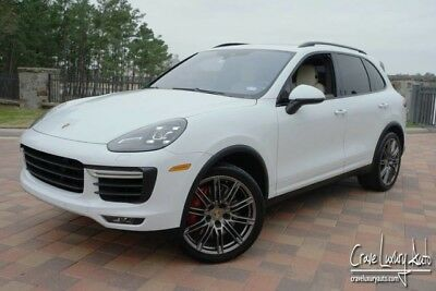 2015 Porsche Cayenne Turbo Sport Utility 4-Door Porche Cayenne Turbo loaded leather MSRP: $137,215.00 Crave Luxury Auto