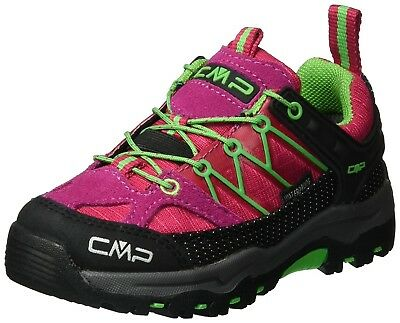 (11 UK, Red (Ibisco)) - CMP Rigel, Unisex Kids' Low Rise Hiking Shoes. Brand New