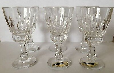 Villeroy and Boch Tiara Cordial Liquor Glass Set of 6