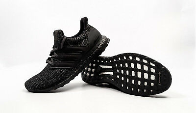 f591d8983 100% AUTHENTIC ADIDAS Ultra Boost Triple Black 4.0 Bb6171 Size 9 ...
