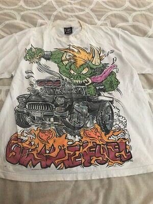 Vintage Metallica 1996 World Tour Gimme Fuel T-Shirt Size XL Original Rare