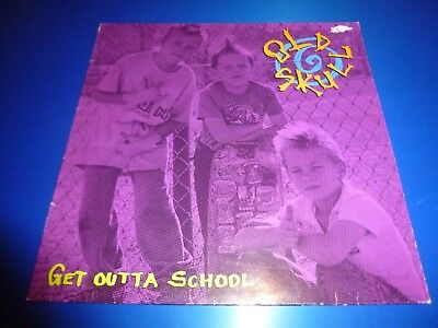 Old Skull * 12'' Album Lp * Get Outta School *1989 * Ls 94481