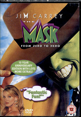 The Mask - Dvd Nuovo E Sigillato, Fuori Catalogo Raro, Import, Lingua Originale