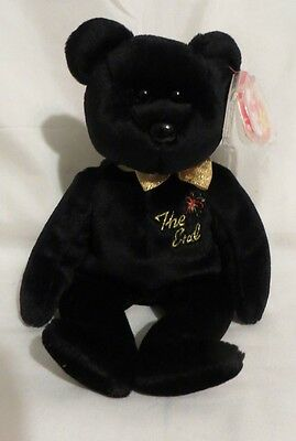 """Ty Beanie Baby """"The End"""" Bear 1999 with RARE TAG!!, Retired Collectible"""