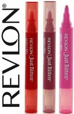 Revlon 2-in-1 Just Bitten Lipstain & Balm ~ Assorted Shades ~ New