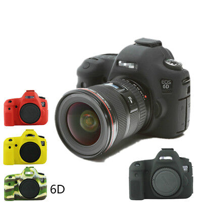 For Canon 6D 1300D Silicone Rubber Protective Camera Body Cover Case Skin Bag