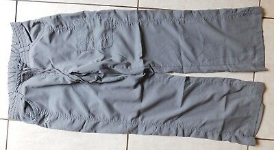 NRG by Barco Scrub Pants / Size Small PETITE / Style #3207p / Gray