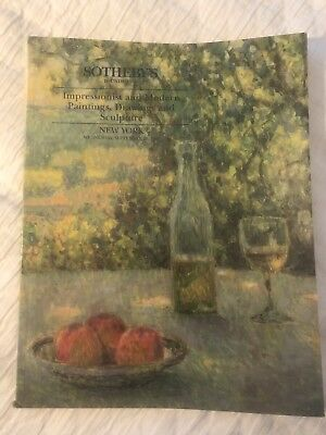Impressionist and Modern Paintings, Drawings and Sculpture Sotheby's Catalog