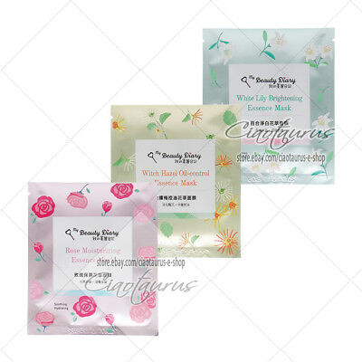 BUY 5 GET 1 FREE [MY BEAUTY DIARY] Floral Essence Series Facial Mask 1pc