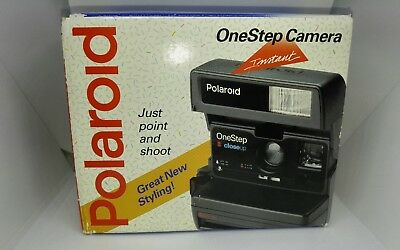 polaroid one step 600 instant camera