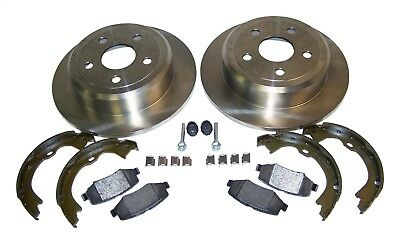 Crown Automotive 52060147K Disc Brake Service Kit Fits 07-18 Wrangler (JK)