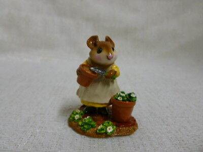 Wee Forest Folk Patient Lucy Easter Edition M-237 Retired