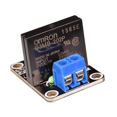 5V 1-Channel Solid State SSR Relay Module High Low Level Trigge OMRON G3MB-202P