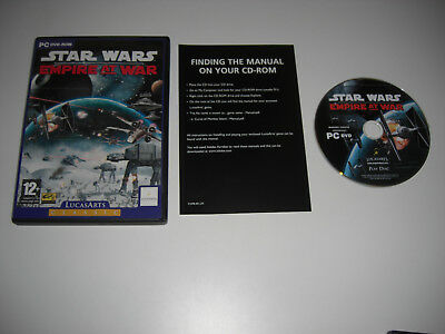 STAR WARS EMPIRE AT WAR Pc DVD Rom Classic - FAST POST