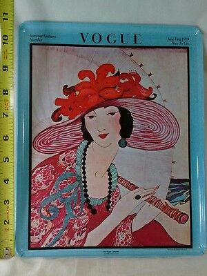 Vogue Magazine TRAY - June 1, 1919 ~ Summer Fashions Cover ~nice condition 11x5