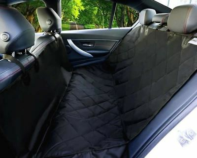 Waterproof Dog Car Back Seat Cover Hammock Protection Quilted for Pet SUV Bench