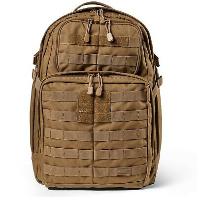 5.11 TACTICAL. GENUINE RUSH 24 Flat Dark Earth BACK PACK