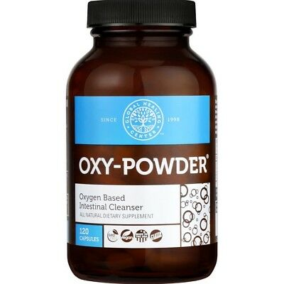 Oxy-Powder Colon Cleanser & Natural Laxative 120 count Constipation Relief Pills