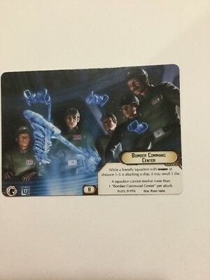Star Wars Armada Organised Event Upgrade Card Bomber Command Centre