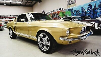 1967 RHD Ford Mustang s code 390 big block car with Shelby GT500 dress up kit