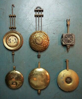 antique clock pendulums