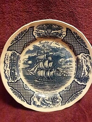Fair Winds plates Original Copper Engravings The Friendship of Salem, set of 5