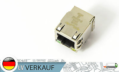 Original Te Connectivity Ethernet Connector LAN RJ45 with LEDs 1840413-8