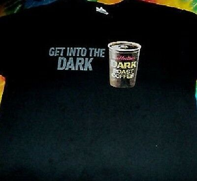 New Tim Hortons Dark Roast T-Shirt - Promo Item - 2014 - All Sizes Available