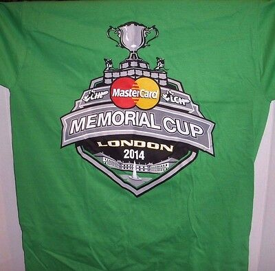 New Tim Hortons London Knights Memorial Cup 2014 T-Shirt - Small & Med Only