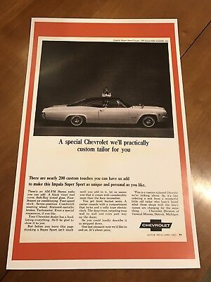 Vintage Gmc Square Body Truck Step Side Ad Poster Home Decor Man Cave Art Z300