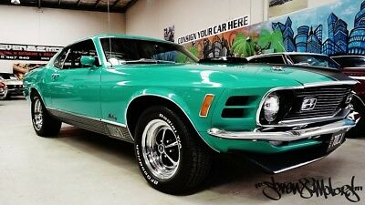 1970 Ford 428 R code ram air V8 Mustang Mach1 4 speed manual