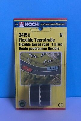 N SCALE Noch Flexible Tarred Road, 1 metre long.