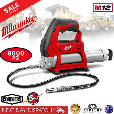 Milwaukee Grease Gun 12V LI-ION Battery Cordless 400ml Cartridge M12GG-0 Skin