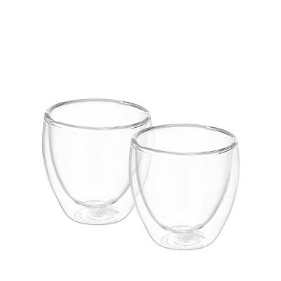 Bodum Pavina 2Pc Double Wall Thermo Glasses 80Ml