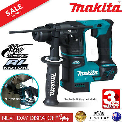 Makita Cordless Rotary Hammer Drill Driver 18V SDS For Li-Ion Battery 17mm Tool