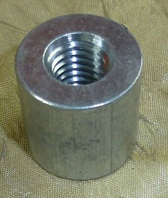 "Qty 50 - 3/8-16 Theaded Aluminum tube spacer standoff .75"" x .75"" OD, 6061-T6"