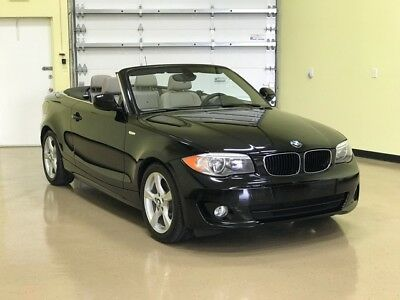 2012 BMW 1-Series 128i Convertible 2012 BMW 128i Convertible with full Leather Interior,Electric Seats, only 48,869
