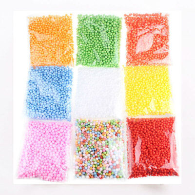 HOT!!! Assorted Colors Polystyrene Styrofoam Filler Foam Mini Beads Ball Crafts