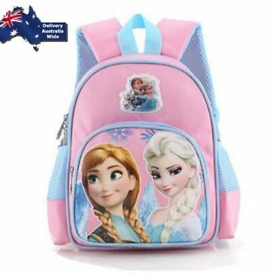 NEW Fronzen Elsa Anna Bag Backpack Girl Kid Day Care Preschool School