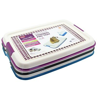 Indoor Pet Puppy Dog Potty Training Portable Toilet Large Loo Pad Tray Mat Small